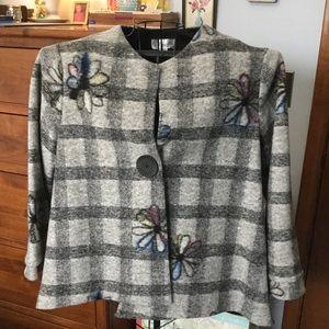 Wool Asymmetrical Coat